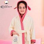 Детский халат из микрофибры на девочку С-504 Слоник Cocoon