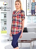 Комплект для отдыха (туника+лосины) 58005 Cocoon