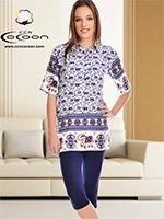 Комплект для отдыха (туника+лосины) 58007 Cocoon