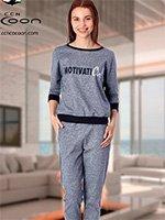 Комплект для отдыха (кофта+брюки) 61-3009 Cocoon