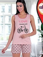 Комплект (футболка, шорты) Велосипед 62801 Sabrina