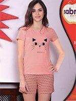 Комплект (футболка, шорты) Кошки 62821 Sabrina