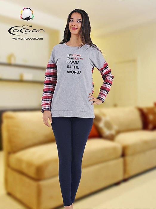 Комплект для отдыха (кофта+лосины) 66-1043 Cocoon