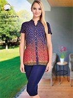 Комплект для отдыха (туника+лосины) 95017 Cocoon
