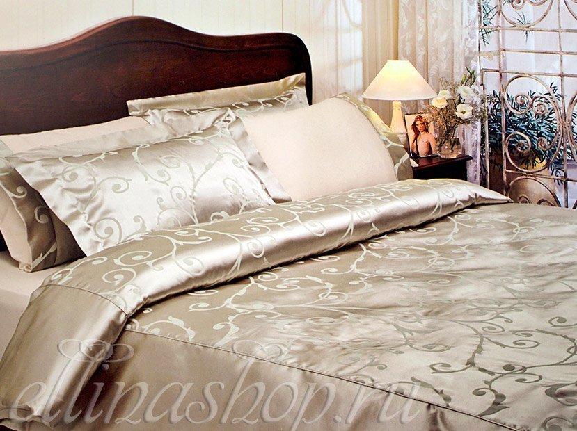 Asmara постельное белье из сатина с шелком Tivolyo