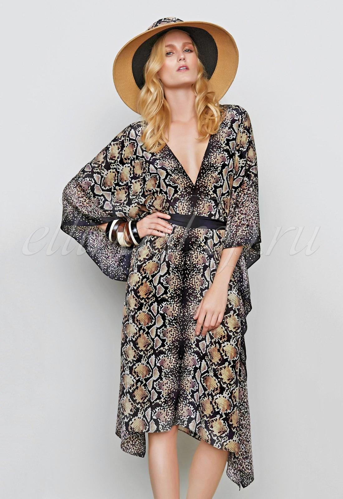 15НО729R Платье-кимоно Gottex
