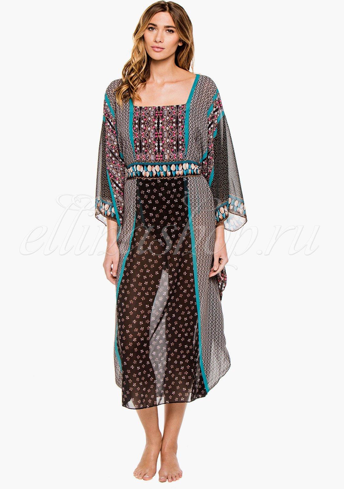 15SE726R платье-кимоно Gottex