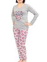 Пижамный комплект Цветы 8054 La penna