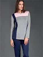 Пижама (кофта+брюки) 02679 Linclalor