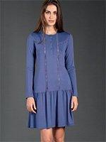 Платье трикотажное, средней длины 2711 Linclalor