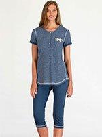 Пижама (футболка, бриджи) 73089 Bisbigli