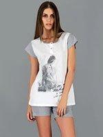 Комплект (футболка, бриджи) 73157 Девушка Linclalor