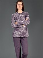 Комплект пижамный (кофта+брюки) 77777 Linclalor
