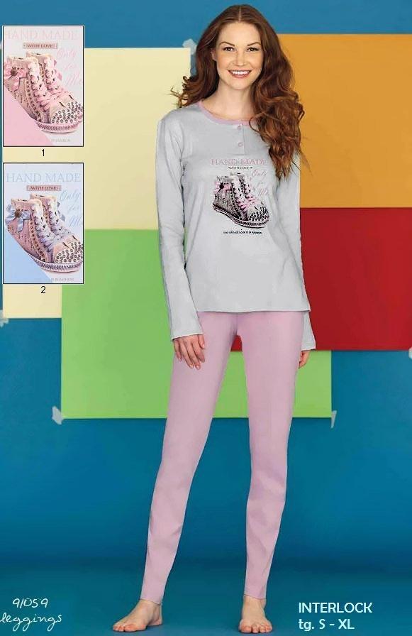 91059 Кеды - пижама (кофта+брюки) Funky girl Linclalor
