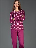 Комплект пижамный (кофта+брюки) 92489 Linclalor