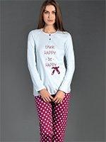 Комплект пижамный (кофта+брюки) 92499 Linclalor