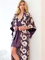 Халат-кимоно с вышивкой 16431 Nota