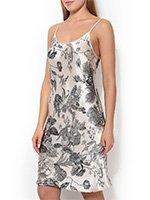 051712 Felicie Сорочка шелковая, короткая Oryades