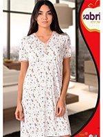 Рубашка ночная средней длины 12590 Sabrina