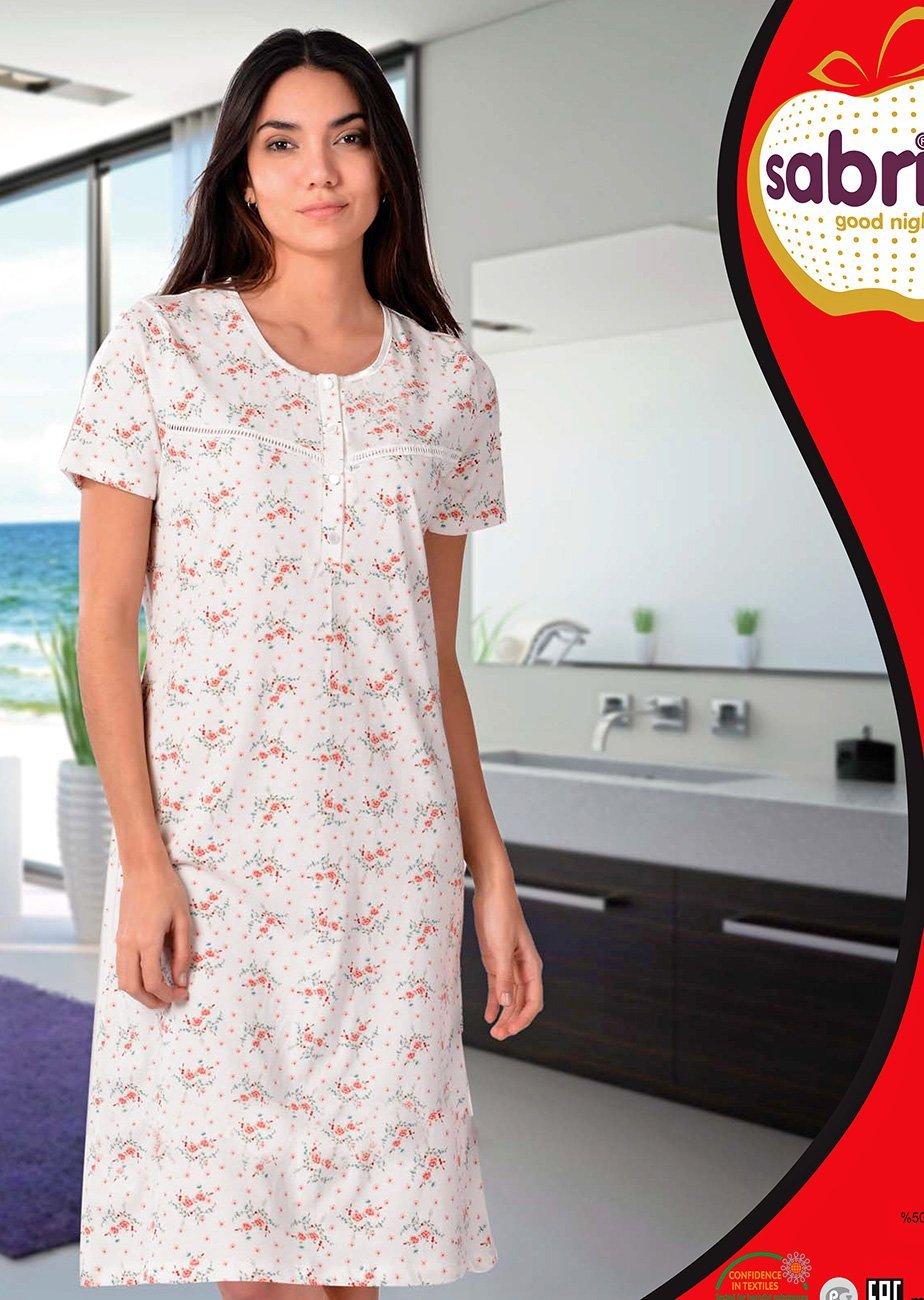 12598 Рубашка средней длины Sabrina
