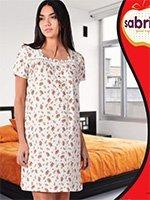 12600 Рубашка средней длины Sabrina