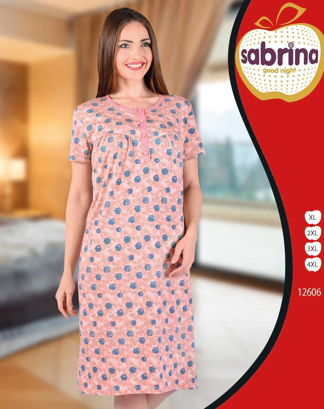 Рубашка средней длины 12606 (22617) Sabrina
