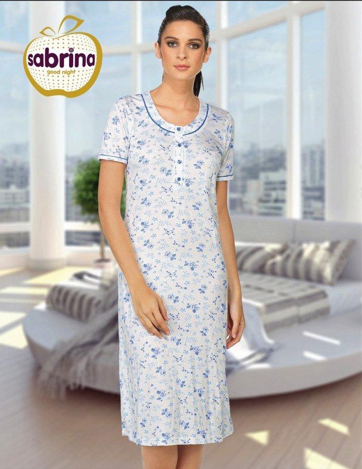 16004 Рубашка средней длины Sabrina