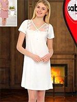 Ночная рубашка средней длины 16021 Sabrina