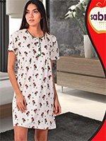 22605 Рубашка средней длины Sabrina