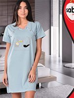 31525 Аист - рубашка для кормящих Sabrina