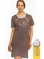 32519 Кит - рубашка для кормящих Sabrina