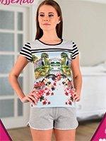 A-407 Город - комплект (футболка+шорты) Missendo