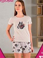 A-419 Бабочки - комплект (футболка+шорты) Missendo