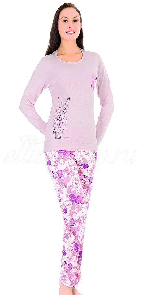 44019 Кролик Пижама (кофта+брюки) Sabrina