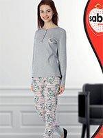 Комплект (кофта+брюки) 44805 Цветок Sabrina