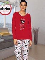 Комплект (кофта+брюки) с начесом 45041 Телефон Sabrina