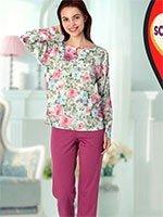 Комплект (кофта+брюки) 47800 Розы Sabrina