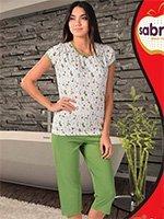 Комплект для отдыха (футболка+бриджи) 52565 Sabrina