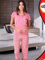 Комплект для отдыха (рубашка+бриджи) 52567 Sabrina