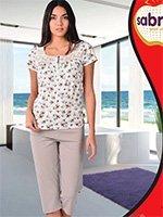 Комплект для отдыха (футболка+бриджи) 52582 (52599) Sabrina