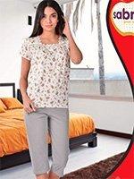 Комплект для отдыха (футболка+бриджи) 52603 Sabrina
