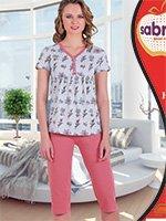 Комплект (футболка, брюки) для беременных 52806 Sabrina