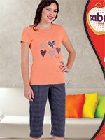 Комплект (футболка, бриджи) 52810 (52823) Sabrina
