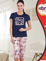 Комплект (футболка, бриджи) 52831 Big love Sabrina