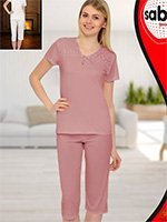 Комплект для отдыха (футболка+бриджи) 56004 Sabrina