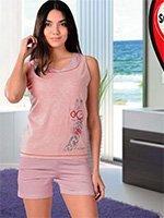 Комплект для отдыха Жираф (футболка+шорты) 61545 Sabrina