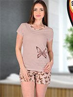 Комплект для отдыха Котик (футболка+шорты) 62541 Sabrina