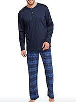 Пижама мужская (кофта+брюки) 154619 Schiesser