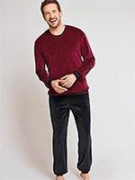 Комплект (кофта+штаны) велюровый 154755 Schiesser