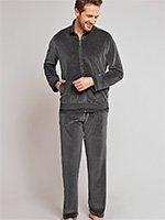 Комплект (кофта+штаны) велюровый 154897 Schiesser